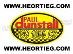 Paul Dunstall Suzuki GS 1000 CS Tank and Fairing Transfer Decal DDUN11-7